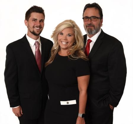 Jesse, Regina & Gary Hamilton